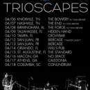 TRIOSCAPES confirm tour dates for April