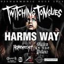 Twitching Tongues Announce Headlining Tour In Support Of New Record, 'Disharmony'