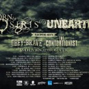 UNEARTH confirms co-headlining tour with Born Of Osiris and performance at California Metal Fest VI
