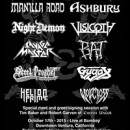 "Visigoth to perform at ""Frost and Fire Festival"" in October with Manilla Road!"