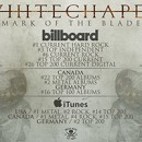 Whitechapel lands on international charts for new album, 'Mark of the Blade'
