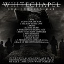 WHITECHAPEL Our Endless War Full Album Stream Available