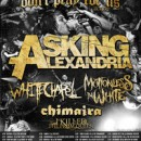 "MerchNow presents: ""The Don't Pray For Us"" Tour with Asking Alexandria, Whitechapel and More"