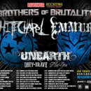 "UNEARTH prepare for ""Brothers of Brutality Tour""; announce Matt DeVries as fill-in bassist"