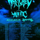 WRETCHED recruit Metal Blade artists ABIOTIC, ALLEGAEON, and RIVERS OF NIHIL for support on headlining tour